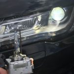 Audi D1S light bulb replacement